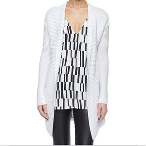 *Like-New* VINCE Open Front Knit Cardigan (White)